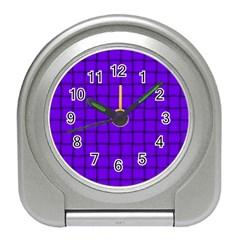 Violet Weave Desk Alarm Clock