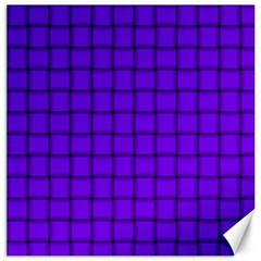 Violet Weave Canvas 12  x 12  (Unframed)