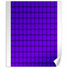 Violet Weave Canvas 20  X 24  (unframed)