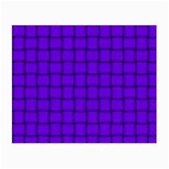Violet Weave Glasses Cloth (Small, Two Sided)