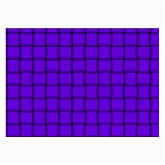 Violet Weave Glasses Cloth (large, Two Sided)