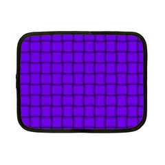 Violet Weave Netbook Case (Small)