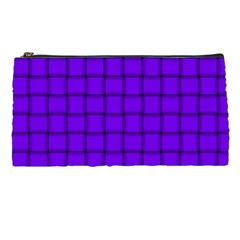 Violet Weave Pencil Case