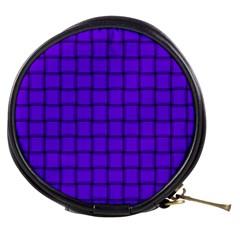 Violet Weave Mini Makeup Case