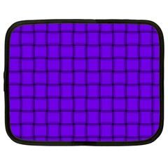 Violet Weave Netbook Case (xl)