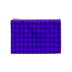Violet Weave Cosmetic Bag (Medium)