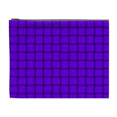 Violet Weave Cosmetic Bag (XL)