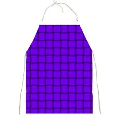 Violet Weave Apron