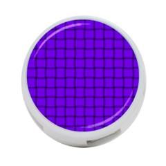 Violet Weave 4-Port USB Hub (One Side)