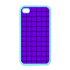 Violet Weave Apple Iphone 4 Case (color)