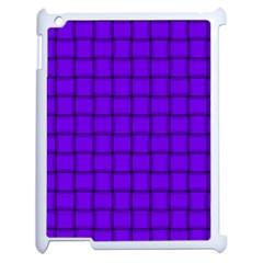 Violet Weave Apple iPad 2 Case (White)
