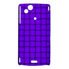 Violet Weave Sony Xperia Arc Hardshell Case