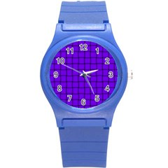 Violet Weave Plastic Sport Watch (Small)