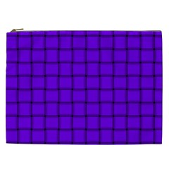 Violet Weave Cosmetic Bag (xxl)