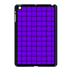 Violet Weave Apple iPad Mini Case (Black)