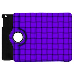 Violet Weave Apple iPad Mini Flip 360 Case