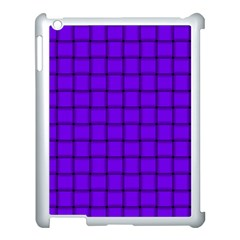 Violet Weave Apple iPad 3/4 Case (White)