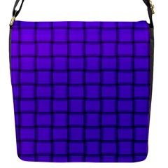 Violet Weave Flap closure messenger bag (Small)