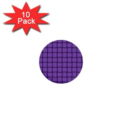 Amethyst Weave 1  Mini Button (10 Pack)
