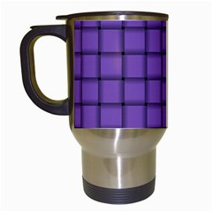 Amethyst Weave Travel Mug (White)