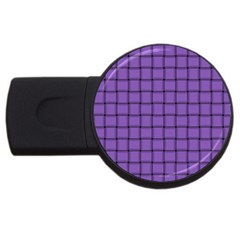 Amethyst Weave 4gb Usb Flash Drive (round)
