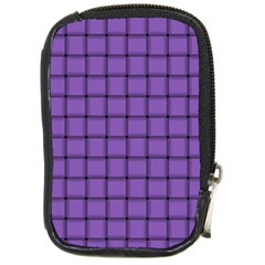 Amethyst Weave Compact Camera Leather Case