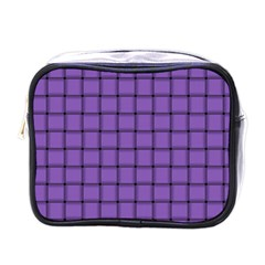 Amethyst Weave Mini Travel Toiletry Bag (One Side)