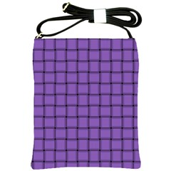 Amethyst Weave Shoulder Sling Bag