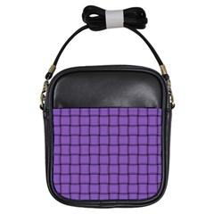 Amethyst Weave Girl s Sling Bag