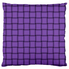 Amethyst Weave Large Cushion Case (one Side)