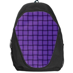 Amethyst Weave Backpack Bag