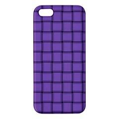 Amethyst Weave iPhone 5 Premium Hardshell Case
