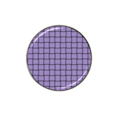 Light Pastel Purple Weave Golf Ball Marker (for Hat Clip)
