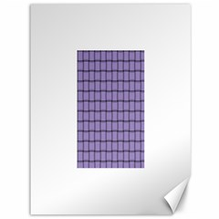 Light Pastel Purple Weave Canvas 36  x 48  (Unframed)