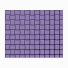 Light Pastel Purple Weave Glasses Cloth (Small, Two Sided)
