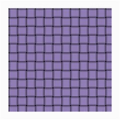 Light Pastel Purple Weave Glasses Cloth (medium, Two Sided)