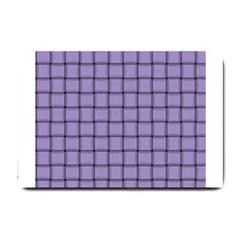 Light Pastel Purple Weave Small Door Mat