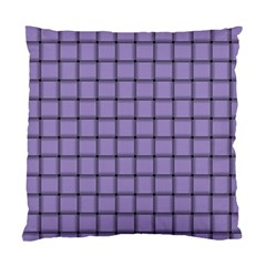 Light Pastel Purple Weave Cushion Case (one Side)