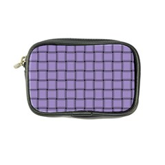 Light Pastel Purple Weave Coin Purse