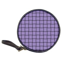 Light Pastel Purple Weave Cd Wallet