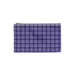Light Pastel Purple Weave Cosmetic Bag (Small)