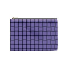 Light Pastel Purple Weave Cosmetic Bag (medium)