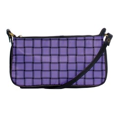 Light Pastel Purple Weave Evening Bag