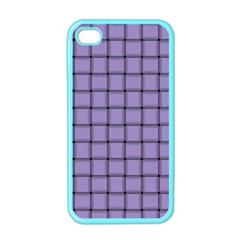 Light Pastel Purple Weave Apple iPhone 4 Case (Color)