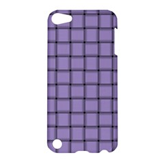 Light Pastel Purple Weave Apple iPod Touch 5 Hardshell Case