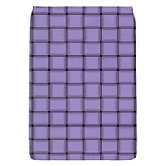 Light Pastel Purple Weave Removable Flap Cover (small)