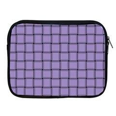 Light Pastel Purple Weave Apple Ipad 2/3/4 Zipper Case
