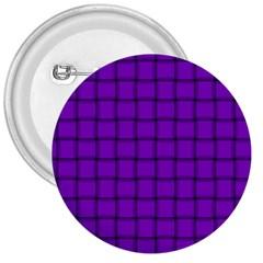 Dark Violet Weave 3  Button