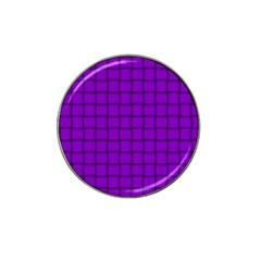 Dark Violet Weave Golf Ball Marker 10 Pack (for Hat Clip)