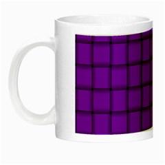 Dark Violet Weave Glow in the Dark Mug
